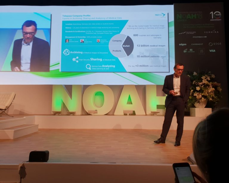 Rainer Kasan Speaks At The NOAH Conference 2018 In London